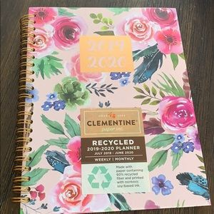 Other - Hard Cover Weekly | Monthly Planner 2019-2020 New